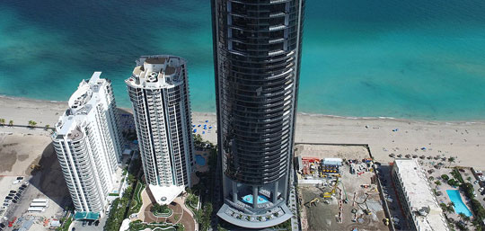 New Developments in Miami Porsche Design Tower